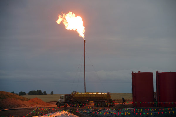 Oil Companies Are Sued for Waste of Natural Gas